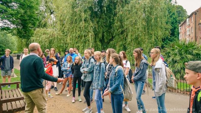 Sprachreise-Gruppe  Sommer 1-1-1