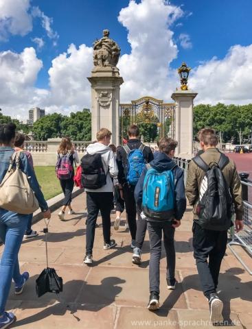 Sommer Sprachreise Gruppe England