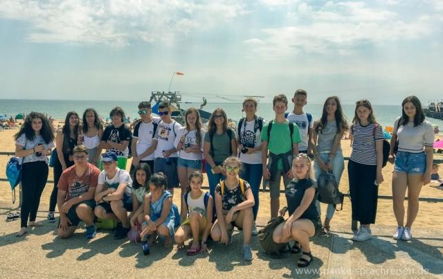 Sprachreise England Sommer Gruppe 2-2-4