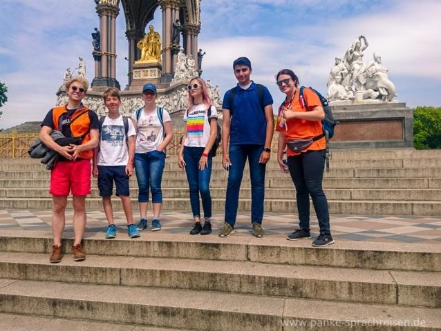 Sprachreise England Gruppe 1-1 und 23-1