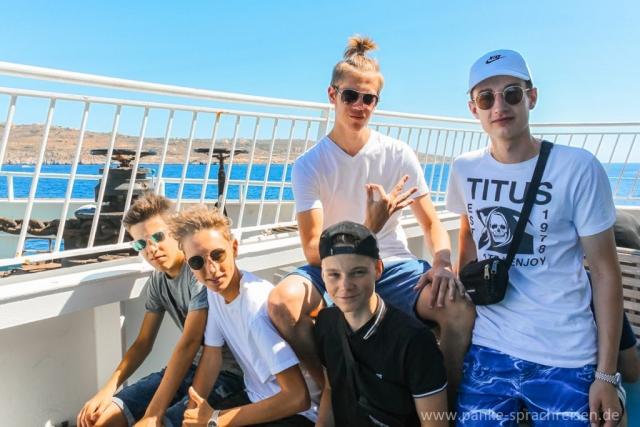 Sprachreisen Malta 2018 Gruppe 2