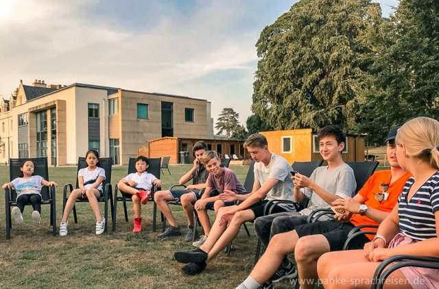 Sprachcamp Thornton 2018