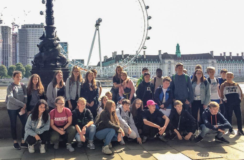 Sprachreisen England Gruppe 10-1