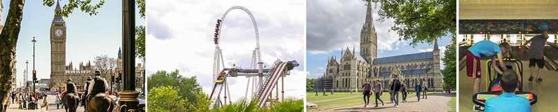 London, Thorpepark, Salisbury, Bowling