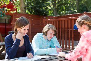 Englisch lernen und entspannen.