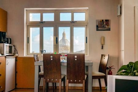 Wohnküche im schuleigenem Penthouse