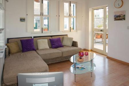 Wohnzimmer im schuleigenem Penthouse