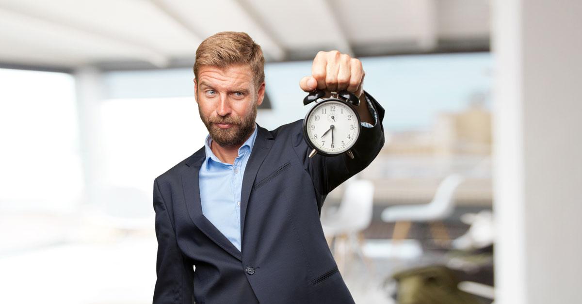 Die Zeit läuft! | Quelle: freepik.com