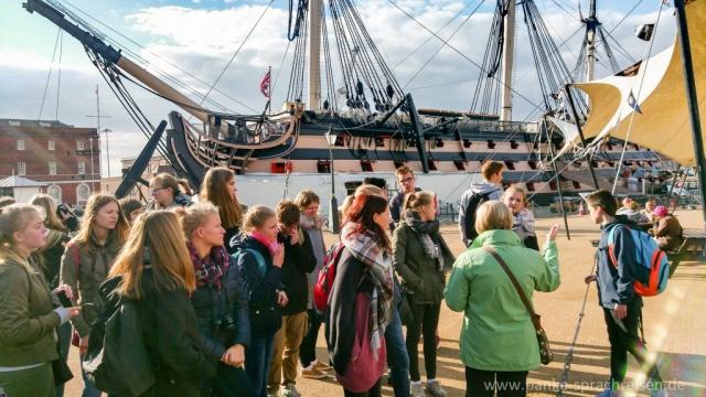 Portsmouth, Sprachreise, Sprachreisen England