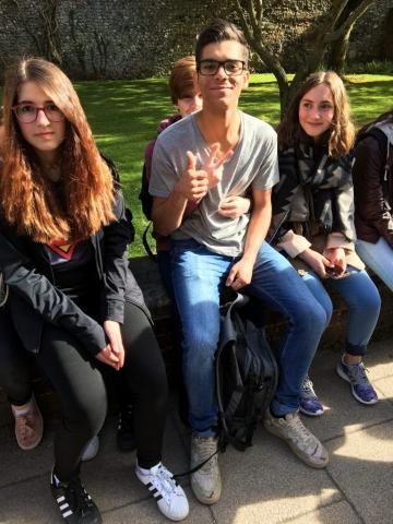 Sprachreise-Gruppe Ostern 1-2 2017