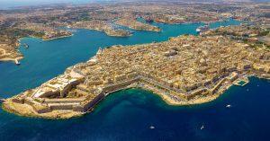 Valletta auf Malta | Luftbild