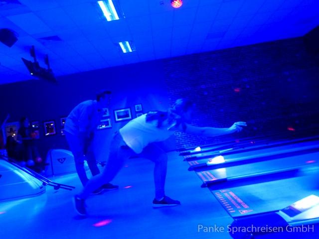 Fun beim Bowling