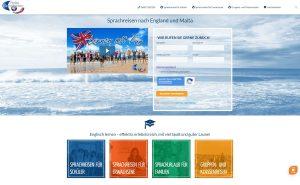 Panke Sprachreisen Webseite