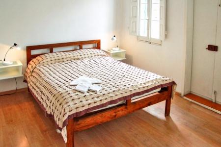 Schlafzimmer  im schuleigenem Penthouse