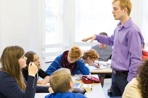Sprach-Unterricht Jugendliche