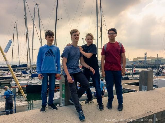 Sprachreise England Pfingsten Gruppe 1