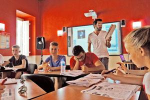 Unterricht auf Malta