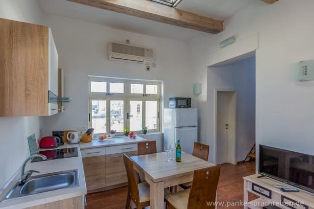 Wohnküche Penthouse Malta 1