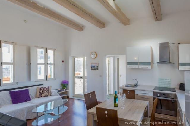Wohnküche Penthouse Malta 2