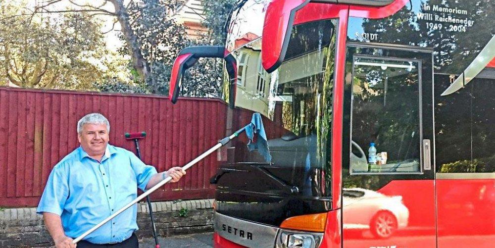 Busfahrer Osmir | Quelle: Walter-Mohr-Realschule Traunreut