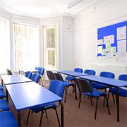 Klassenraum Sprachkurse
