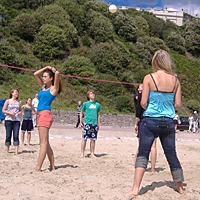 Spiele am Strand | Sprachreisen für Jugendliche